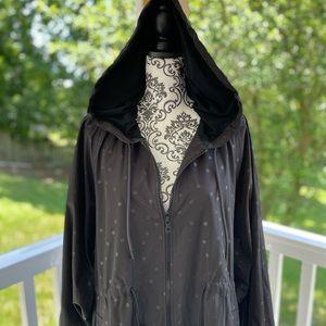 NWOT Kate Spade Singin' in the Rain Hooded Jacket